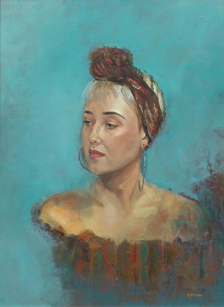 Art painting - Hannah