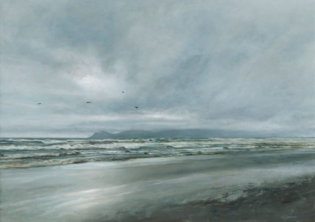Art painting - Moody Kapiti