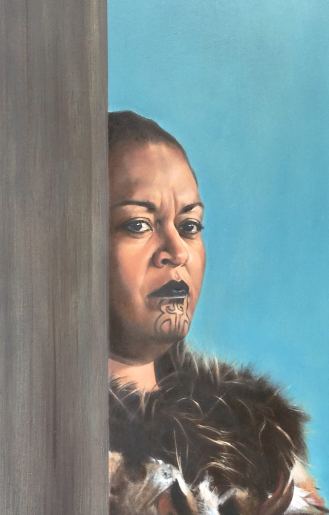 NZ Art Portrait Maori