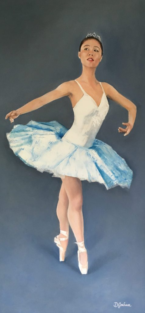 Ballet Art Oil Painting