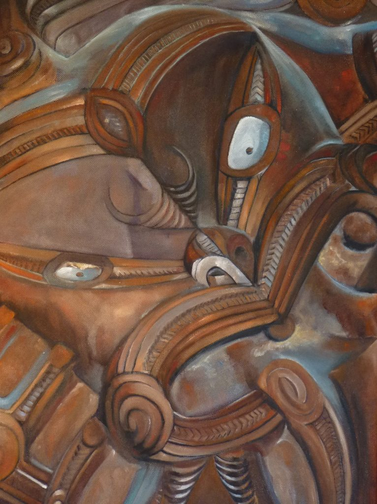 Art Painting in Oils Maori