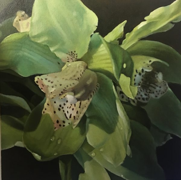 Art painting - Orchid