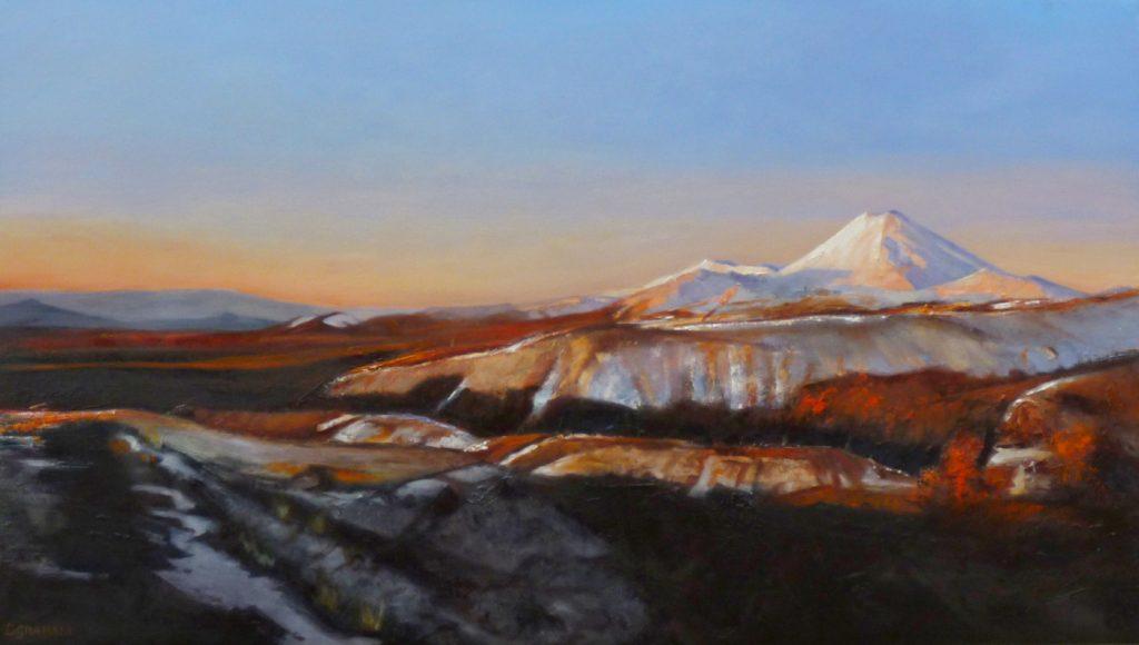 NZ Mountain Art Painting