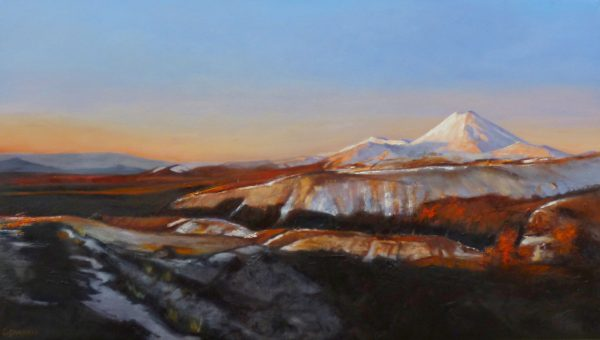 NZ Mountain Art Painting