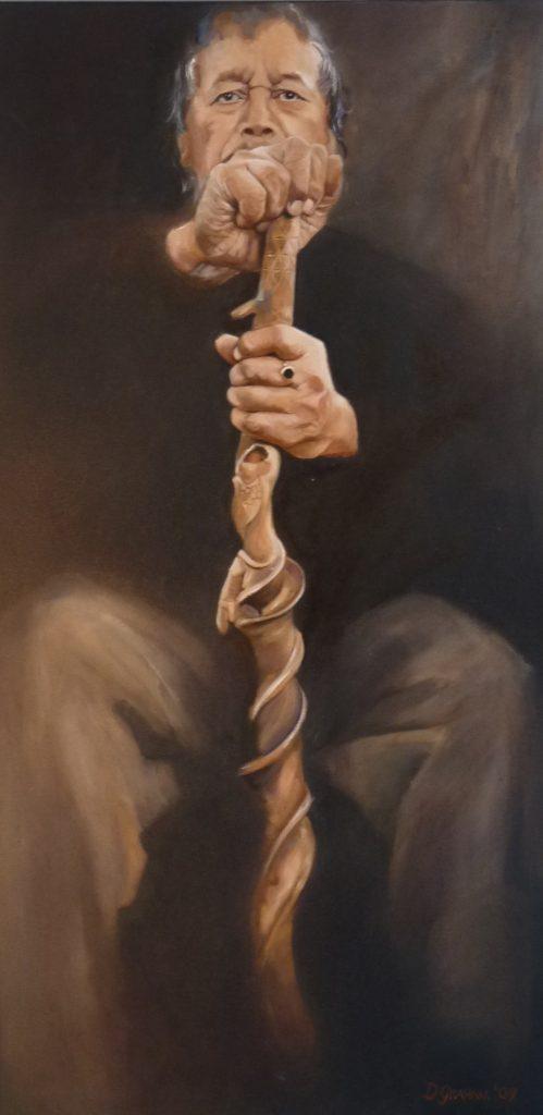 NZ Art Maori Painting